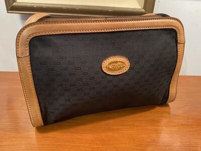 "Vintage 1980's Authentic ""Micro GG"" Gucci Handbag"