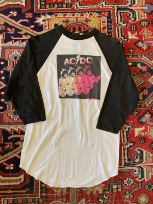 Vintage AC/DC Baseball Style T-Shirt