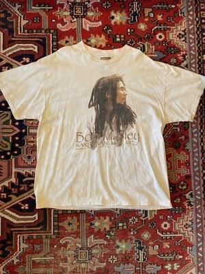 Vintage 2000 Bob Marley Rastaman Live Up T-Shirt