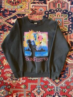 Vintage 1993 SunFest Sweatshirt