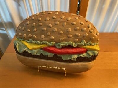 Vintage 1977 Handmade Cheeseburger