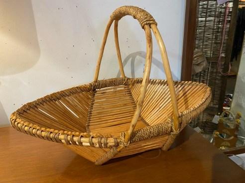 Vintage Boho Basket