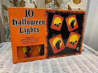 Vintage Halloween Lights Never Used