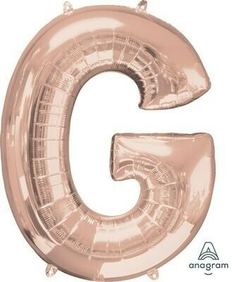 Super Shape Letter G Rose Gold 34