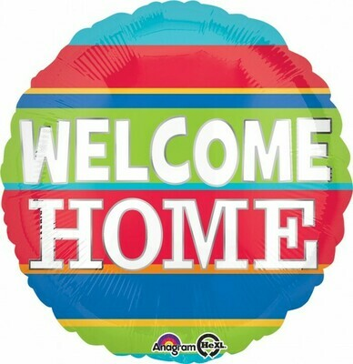 Welcome Home Colorful Stripes 18