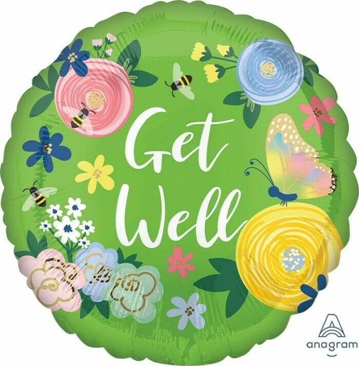 Get Well Floral Garden