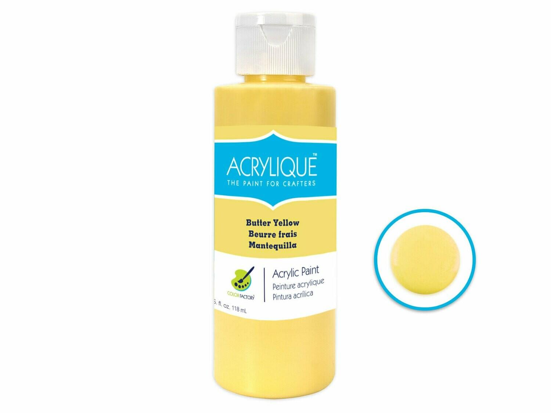 Butter Yellow 4oz Paint