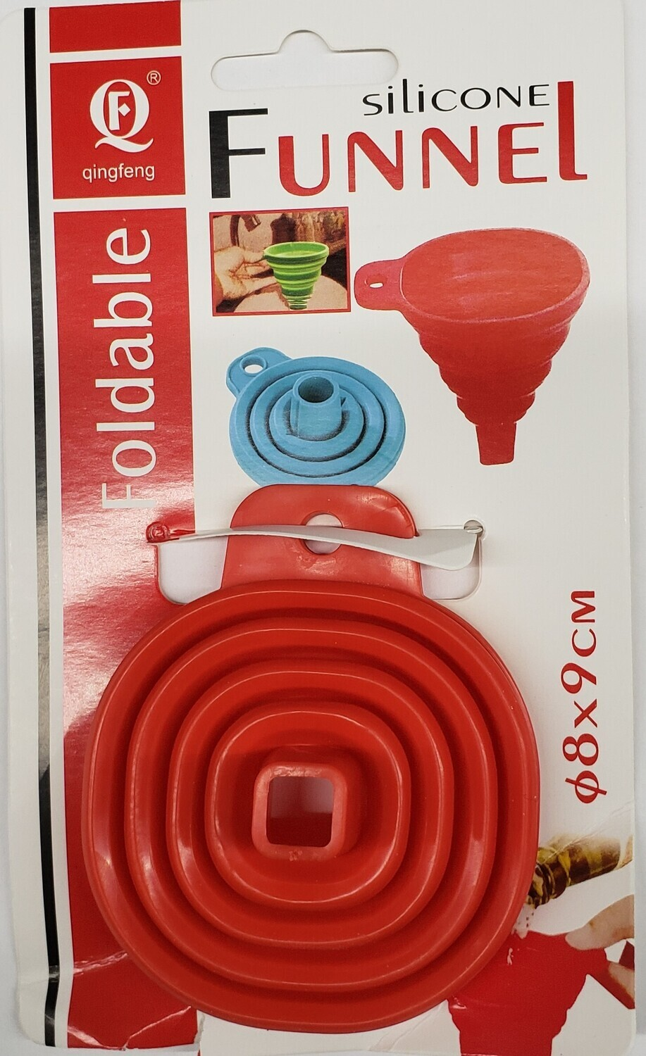 Silicone Collapsible Funnel