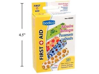 Bodico 28-pc Kid's  Bandages