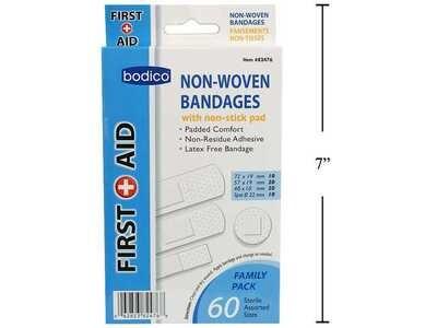 Bodico 60-pc Non-woven Bandages