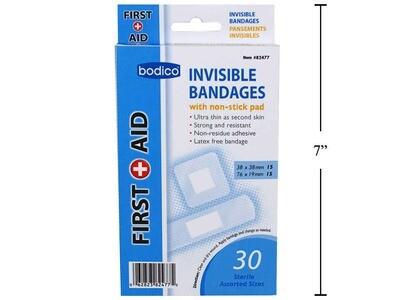 Bodico 30-pc Invisible Bandages