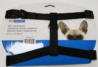 Pet Harness- 2 cm X 35/50 cm