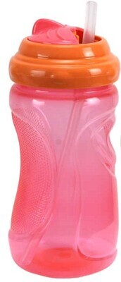 Tootsie Baby,12oz Thumb Grip Sipper Cup With Round