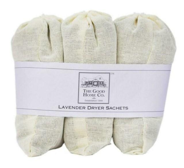 Lavender Dryer Sachets 3/Pack