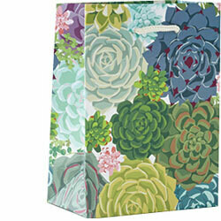 Succulent Small Gift Bag