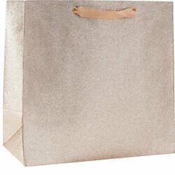 Champagne Glitter Large Gift Bag