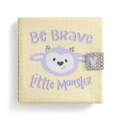 Be Brave Little Monster Soft Book