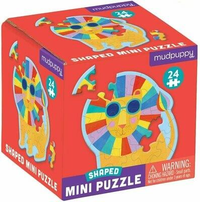 Rainbow Lion Shaped Mini Puzzle