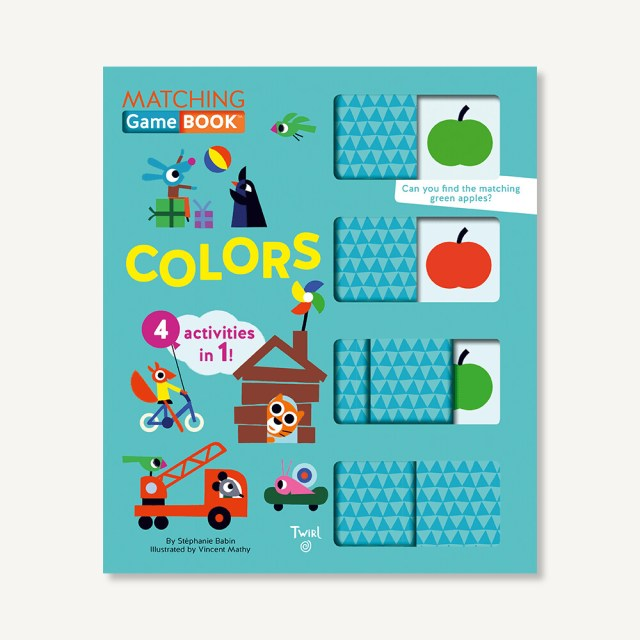 Colors Matching 4:1 Game Book