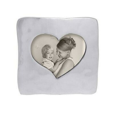Open Heart Square Frame