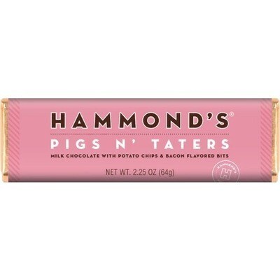 Pigs N' Taters Milk Chocolate Candy Bar