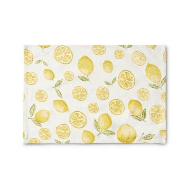 Lemon Cotton Placemat