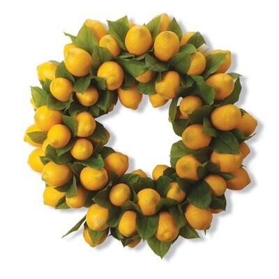 Lemon Wreath 24