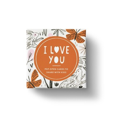 Thoughtfulls Kids Pop-Up Cards - I Love You