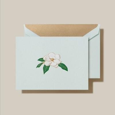 Engraved Magnolia Card Set