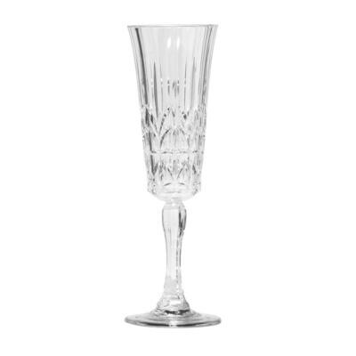 Royals Clear Acrylic Champagne Flute