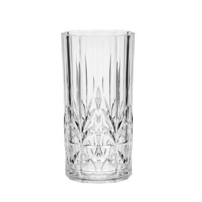 Royals Clear Acrylic Hi-Ball 19 oz. Glass