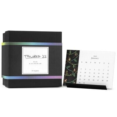 2022 Tailored Desk Calendar