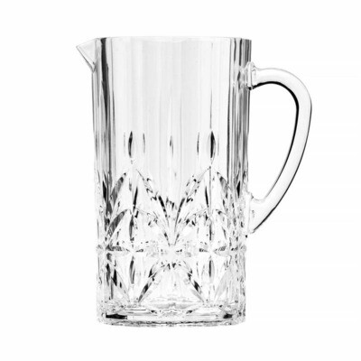 Royals Clear Acrylic Pitcher