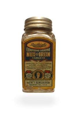 Rawleigh's Compound Laxative - Nux Iron Tablets