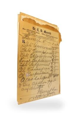 1910-1915 Poison 5pk Prescriptions
