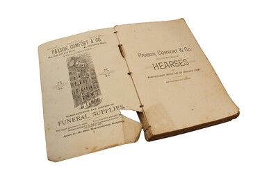 1889 Directory of Pennsylvania Funeral Directors
