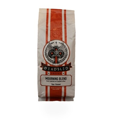 Dead Sled Coffee - Mourning Blend (Ground)