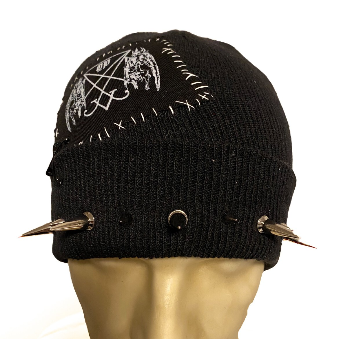 DIY or D*E Strength Through Knowledge Spiky Beanie