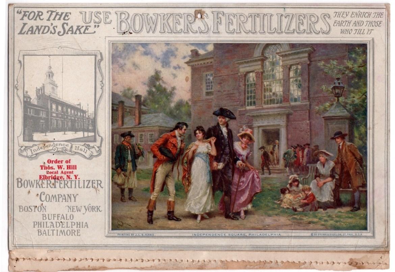 Bowker's Fertilizer Co. 1914 Calendar