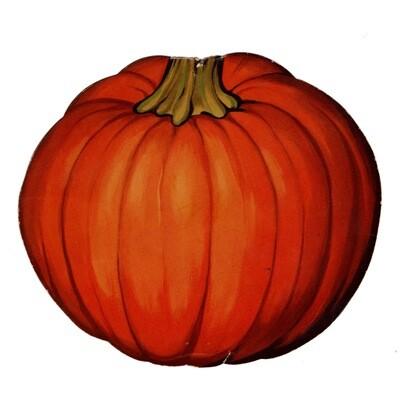 Pumpkin Die-Cut Medium
