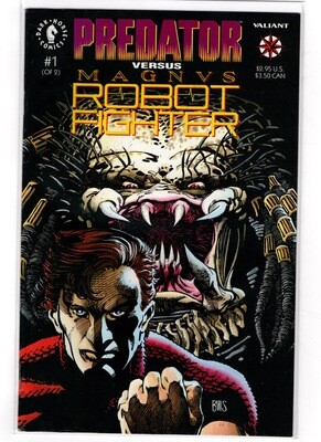 Predator vs. Magnus Robot Fighter 1992 #1