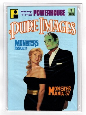 Pure Images #3 Monsters Issue 1991
