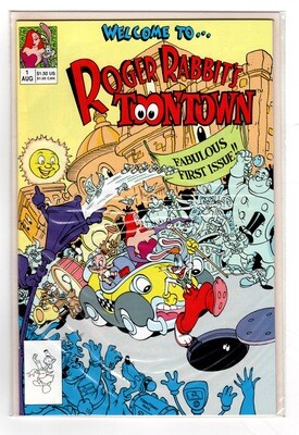 Roger Rabbit #1 Welcome to Toontown