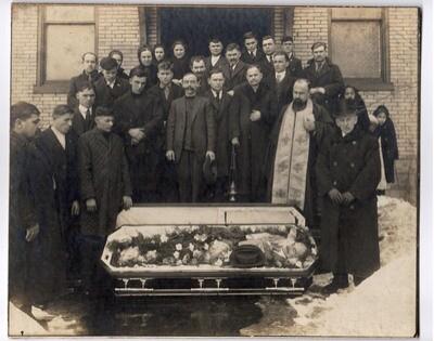 Post-Mortem Funeral Photo 8.5 x 10