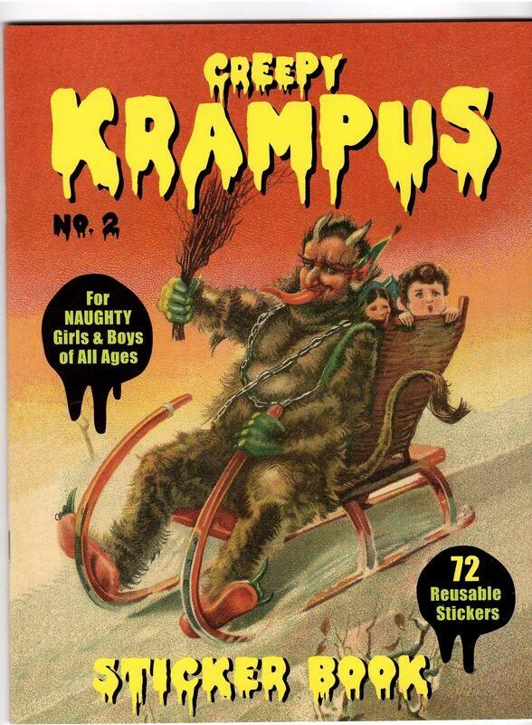 Creepy Krampus Sticker Book Vol 2