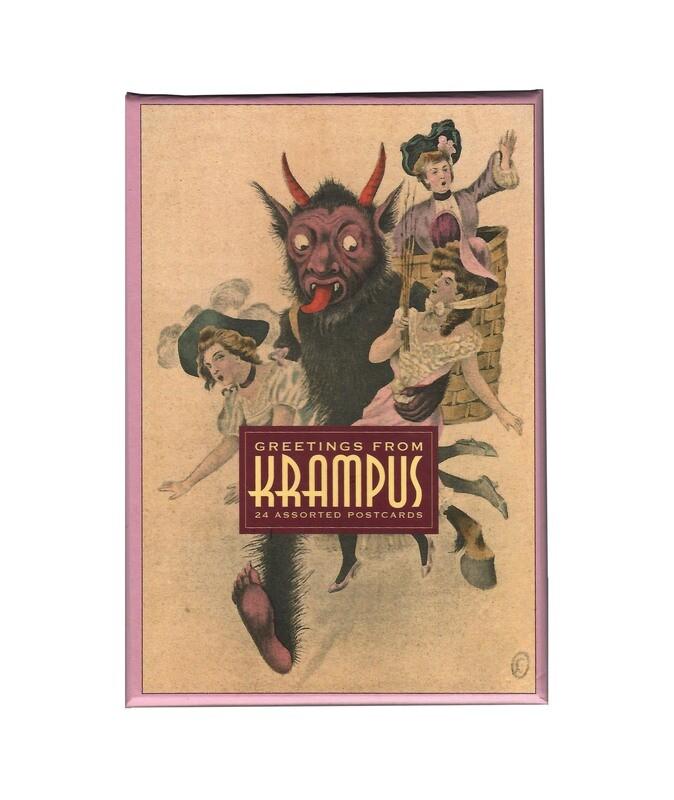 Assorted Krampus Greeting Cards