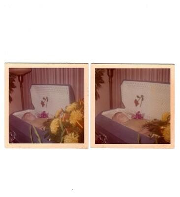 c1960s-1970s Post-Mortem Photo Set