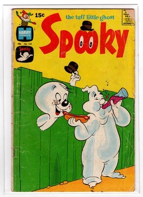 Spooky #122 The Tuff Little Ghost - 1970