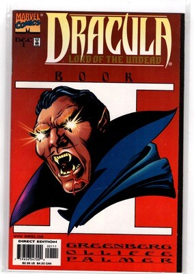Dracula - Lord of the Undead Book 1 1998