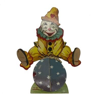 1940s Clown Valentine Accordion